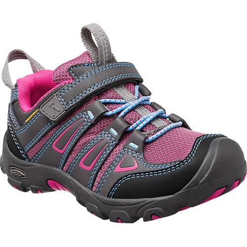 Keen Oakridge Low WP - Chaussures Enfant - gris Sortie D'usine En Ligne Hjq8t